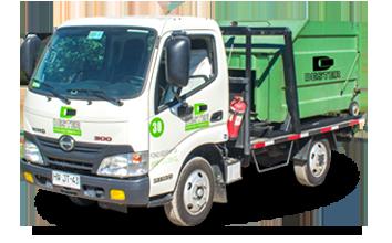Retiro de Basura - Camión transporte contenedor